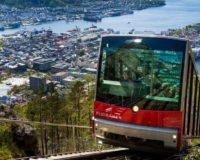 Tõstuk sõiduks Floyeni mäele Bergenis