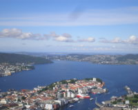 Bergen, vaade Floyeni mäelt