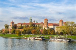 Poland Castle Kraków Wawel
