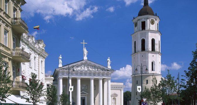 Vilnius. Kaziukase laat